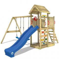 Plac zabaw Wickey MultiFlyer z drewnianym dachem