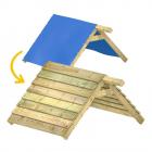 Zamiana dachu z plandeki na dach drewniany 114